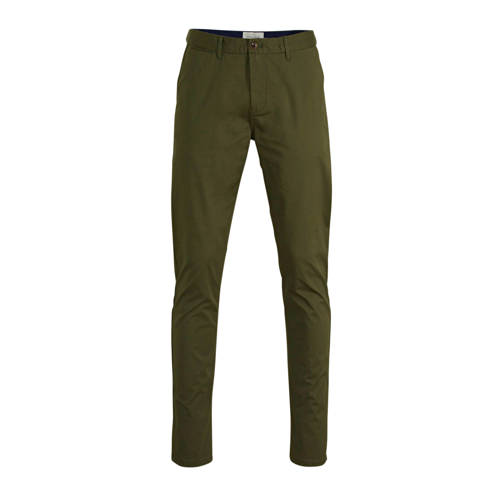 Scotch & Soda Mott slim fit chino mosgroen