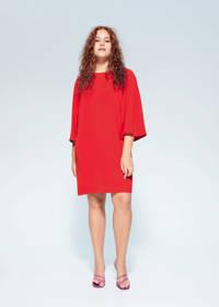 Violeta by Mango jurk rood, Rood