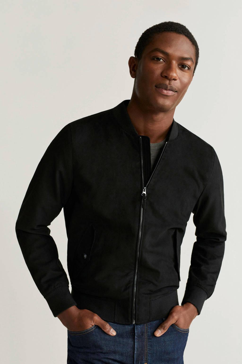 Mango Man zomerjas zwart, Zwart
