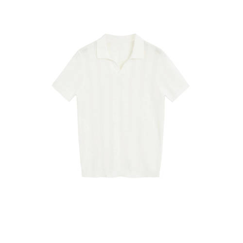 Mango Man slim fit polo wit