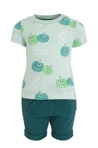 C&A Baby Club T-shirt + short - set van 2 groen, Groen