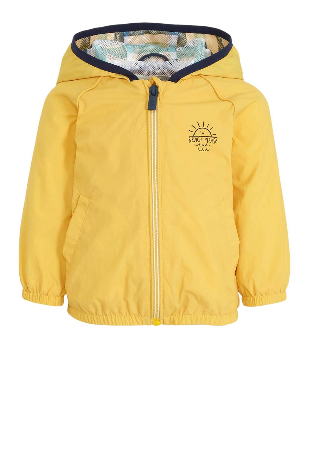 C&A Baby Club baby zomerjas met printopdruk geel, Geel