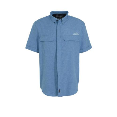 C&A Canda regular fit overhemd blauw