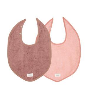 slab Dijon Organic - set van 2 paars/roze