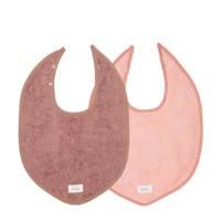 Koeka slab Dijon Organic - set van 2 paars/roze, Paars/roze