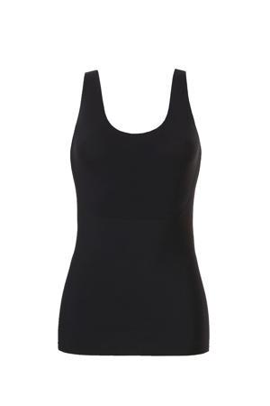 naadloos corrigerend hemd zwart