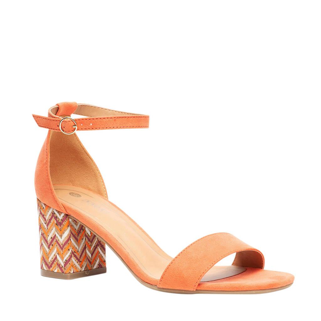 Scapino Nova   sandalettes oranje, Oranje
