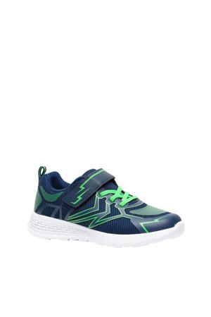 sportschoenen blauw/groen