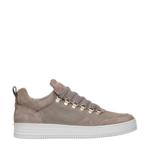 Sacha su??de sneakers grijs