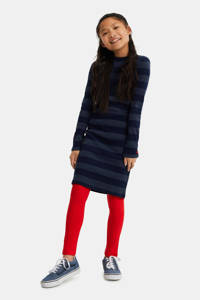 WE Fashion legging met tekst rood, Rood