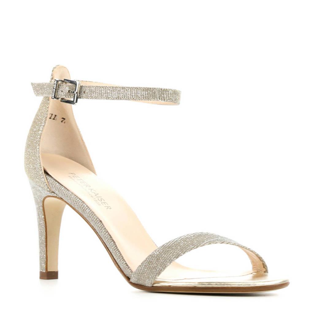 Peter Kaiser 7591   sandalettes zilver, Zilver