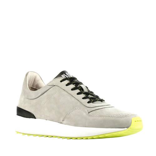 Blackstone TG02 nubuck sneakers grijs