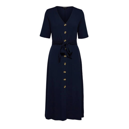 SELECTED FEMME jurk donkerblauw