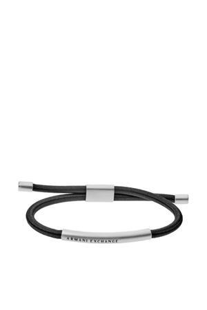 Logo Heren Armband AXG0041040 zilver