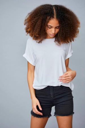jeans short Siw zwart