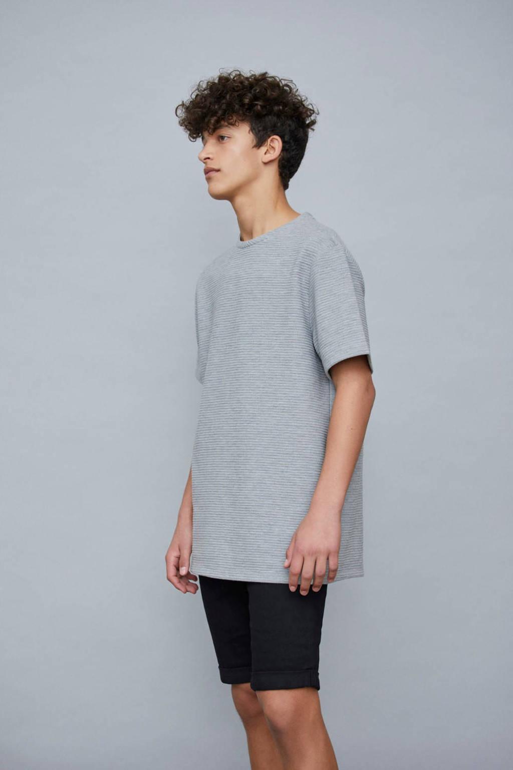 LMTD jeans bermuda Shaun zwart, Zwart
