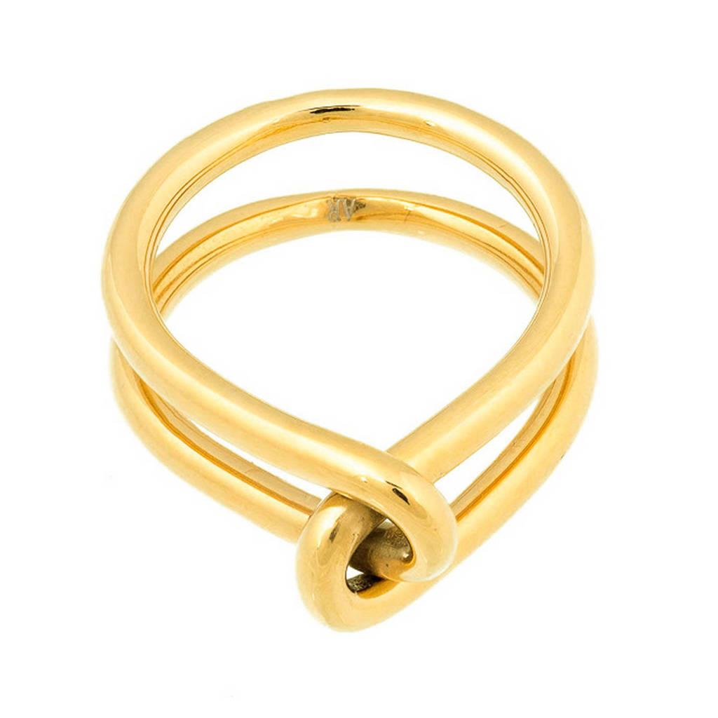 Bandhu ring Wire goudkleurig, Goud