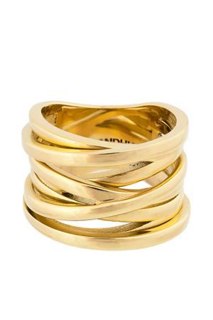 ring Coil goudkleurig