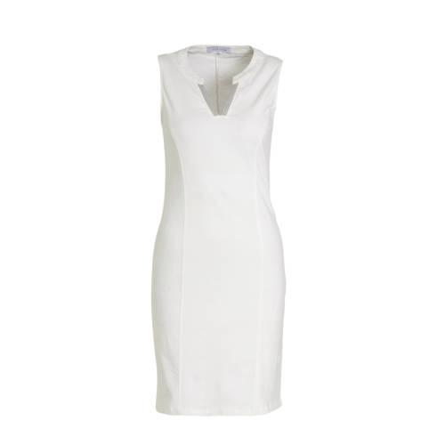 LOLALIZA jurk en sierstenen wit