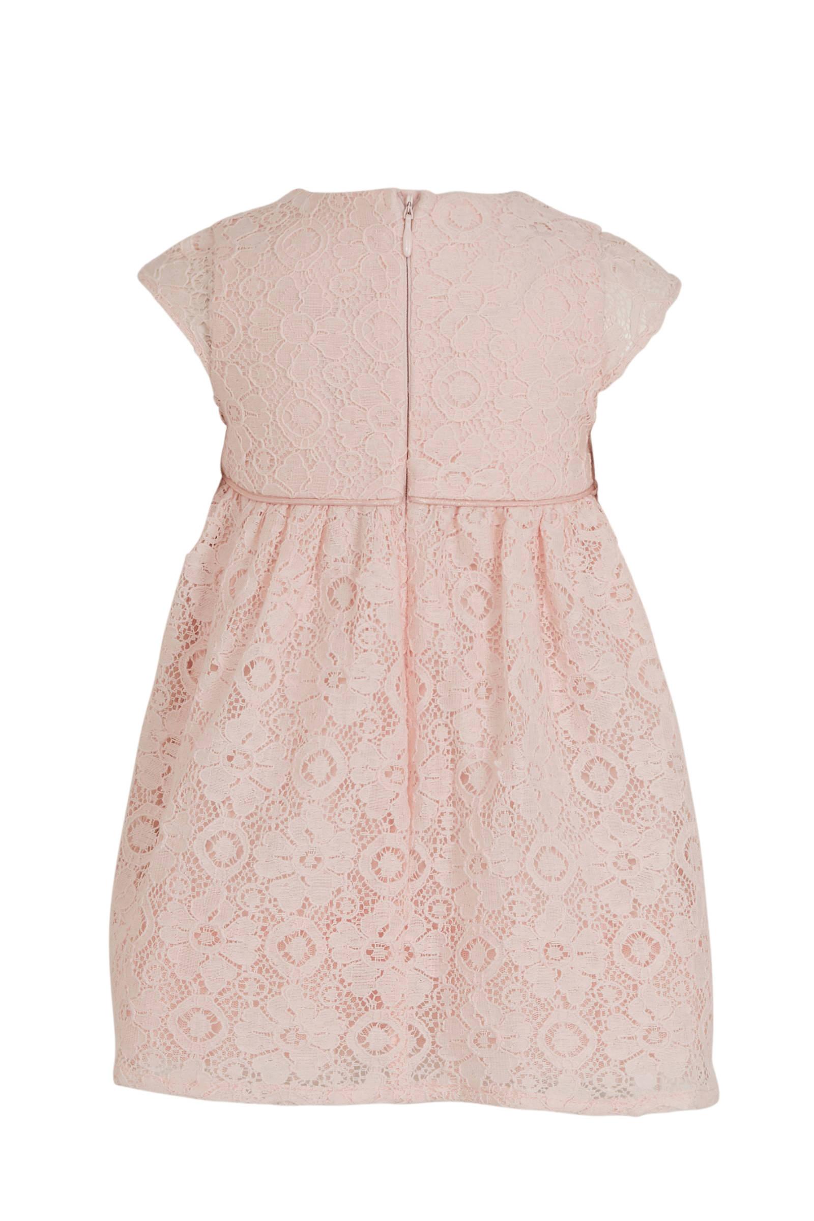 Ongebruikt C&A Baby Club A-lijn jurk en kant roze | wehkamp YE-22