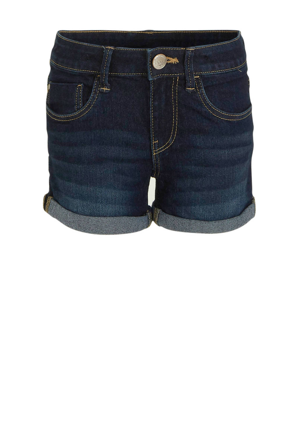C&A Here & There jeans short dark denim, Dark denim
