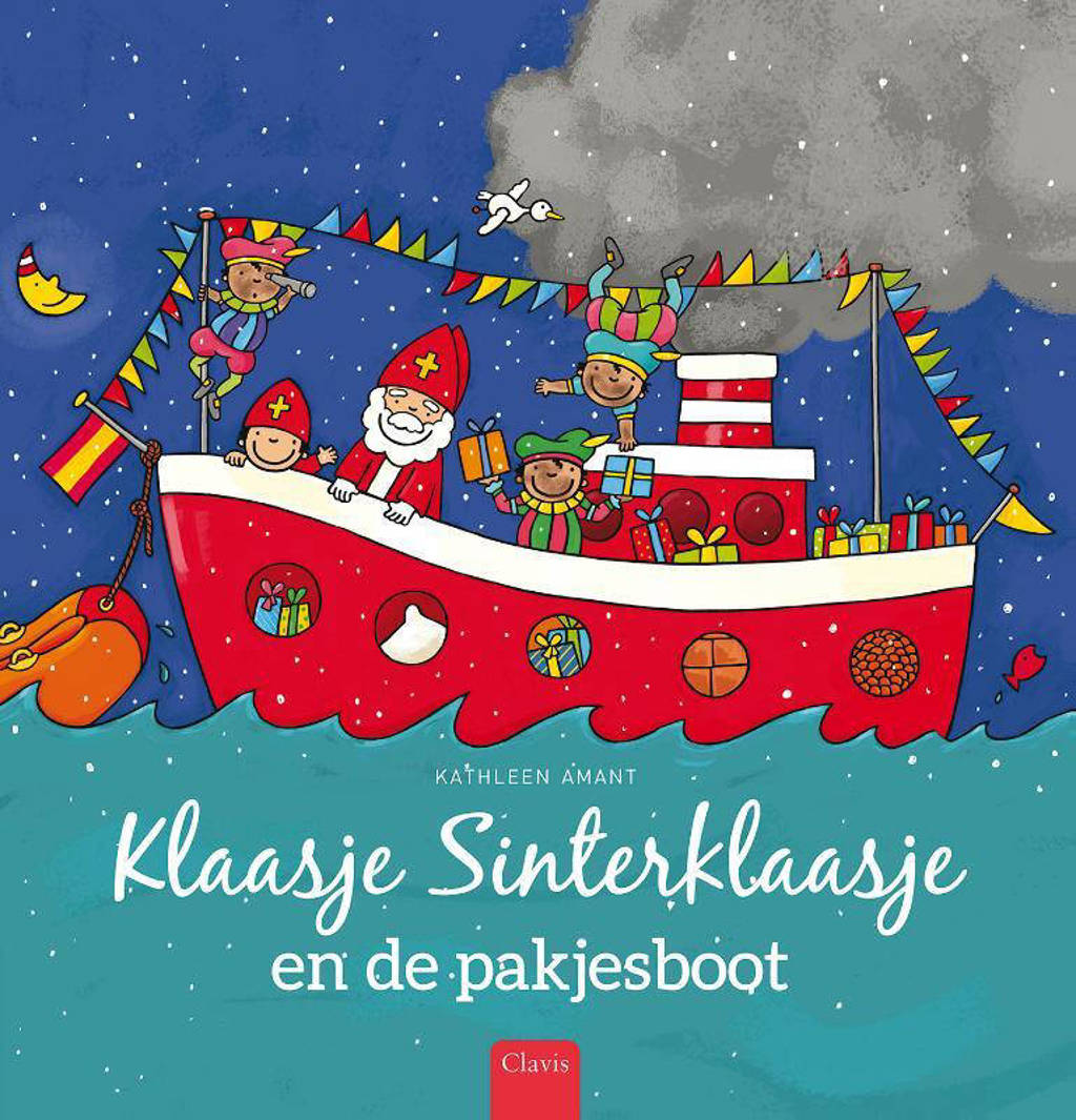 Klaasje Sinterklaasje en de pakjesboot - Kathleen Amant