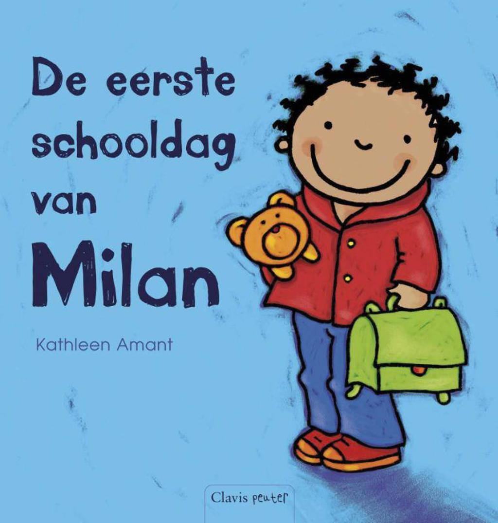 De eerste schooldag van Milan - Kathleen Amant