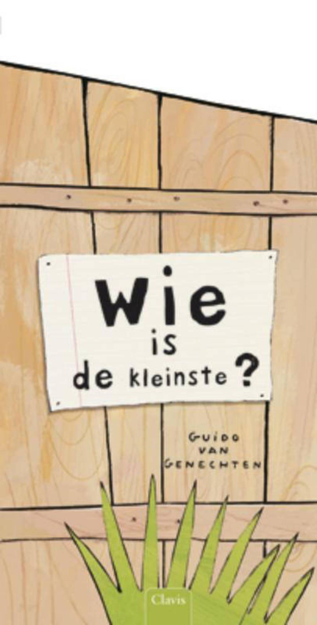 Wie is de kleinste? - Guido Van Genechten