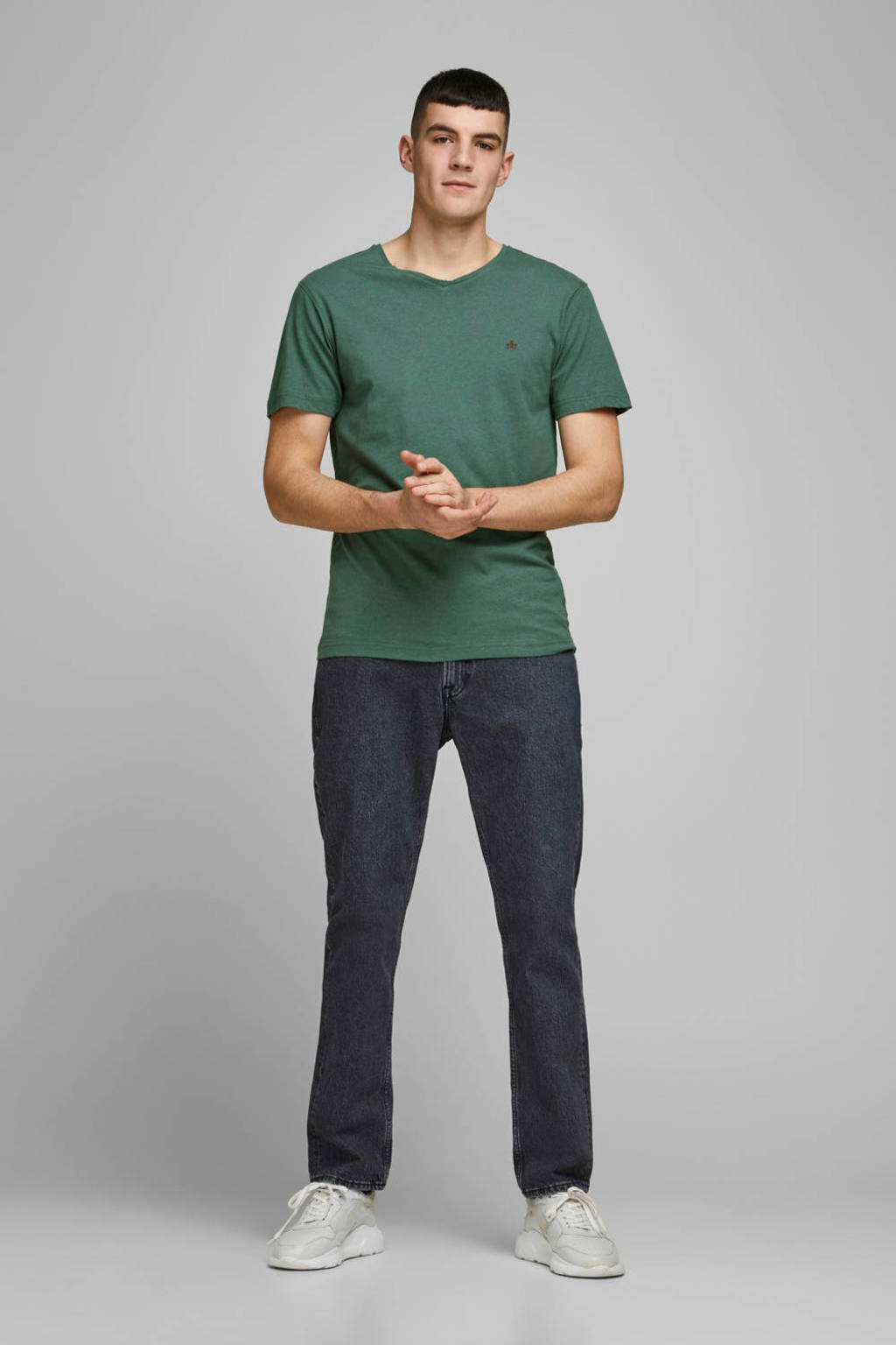 JACK & JONES PREMIUM T-shirt groen, Groen