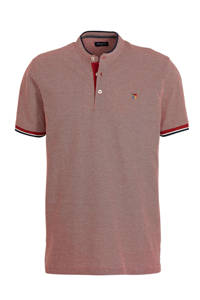 JACK & JONES PREMIUM regular fit polo donkerrood, Donkerrood