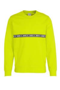 JACK & JONES CORE sweater Toffee met logo sulphur spring, Sulphur Spring