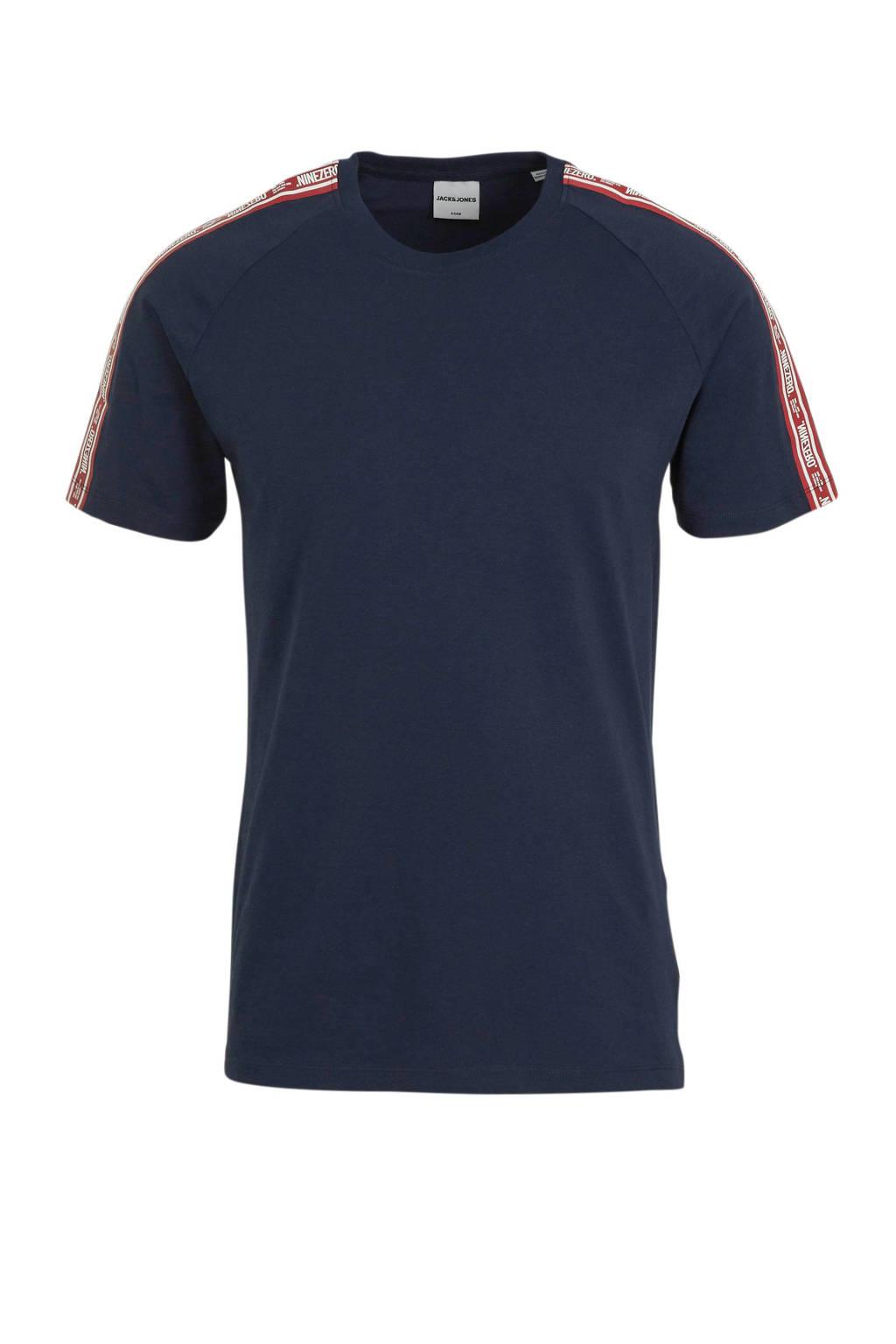 JACK & JONES CORE T-shirt Hugo donkerblauw, Marine