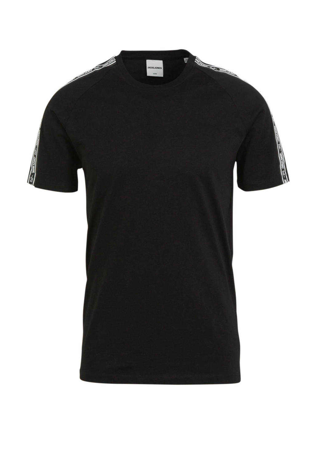 JACK & JONES CORE T-shirt Hugo zwart, Zwart