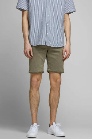 slim fit jeans short Dusty Olive