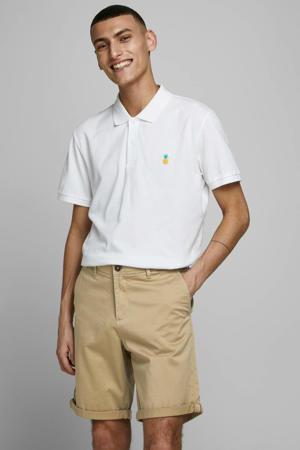 regular fit bermuda beige