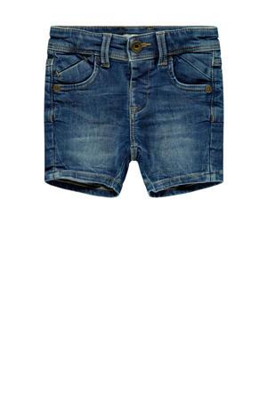jeans bermuda Ryan met biologisch katoen stonewashed