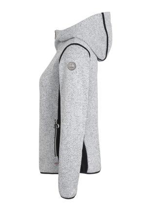 outdoor vest Elielniemi wit/donkerblauw