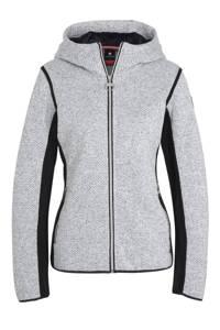 Luhta outdoor vest Elielniemi wit/donkerblauw, Wit/donkerblauw