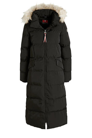 gewatteerde jas Eriksdal zwart