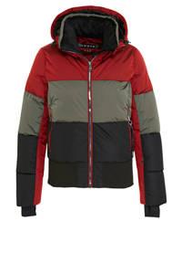 Luhta jack Ekholm rood/grijs/zwart, Rood/grijs/zwart