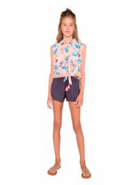 Protest gebloemde blouse Loni lichtroze, Seashell