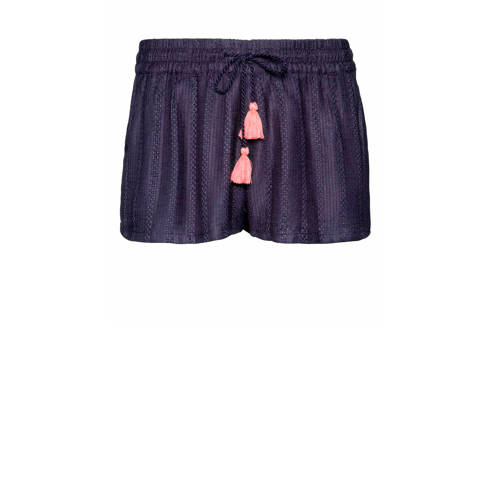 Protest short Marcha donkerblauw