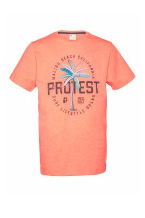 T-shirt Linus oranje
