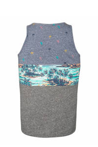 Protest singlet Mielo grijs/blauw, Ground Blue