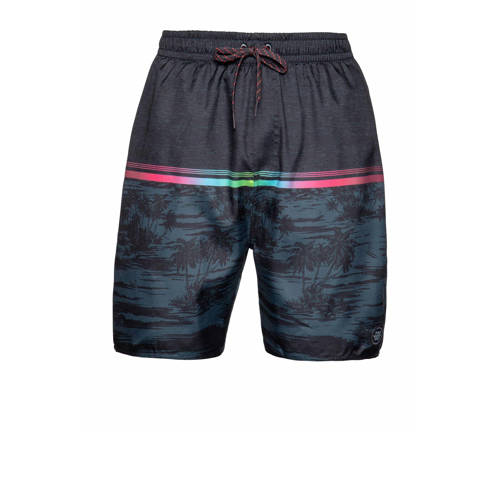 Protest zwemshort Athletic zwart