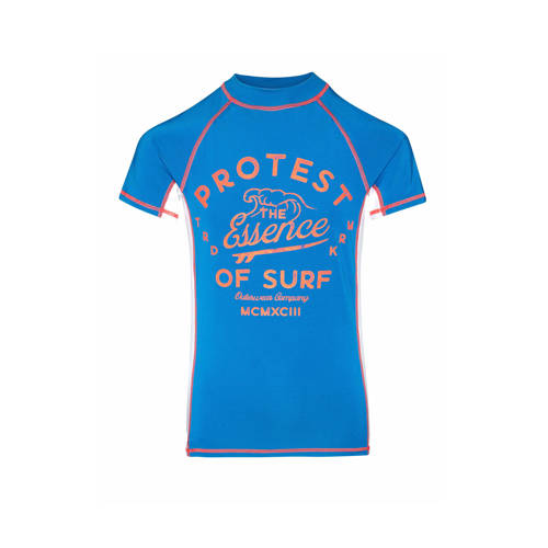 Protest UV shirt Koen blauw