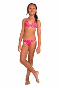Protest bikini Annelene roze/wit, Grenadine