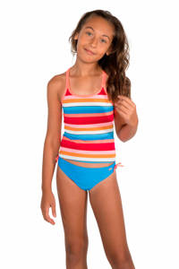 Protest tankini Amber JR blauw/rood/wit, Canyon