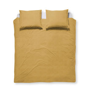 Katoen (biologisch) dekbedovertrek lits-jumeaux