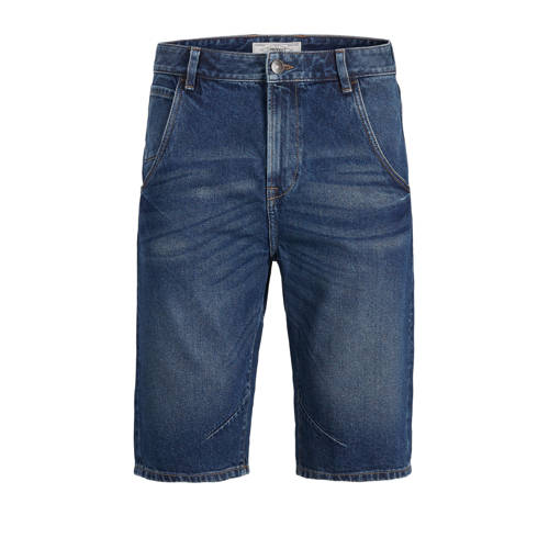 PRODUKT regular fit jeans short medium blue denim